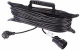 Удлинитель электрический Rexant 11-5330 Удлинитель на рамке 30м (1 роз.) 3х0.75 с заземлением черный