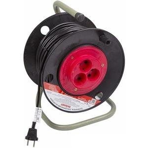 Удлинитель электрический Rexant 11-7230 Удлинитель на катушке 30м (3 роз.) 2х1.0