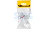 Вилка электрическая PROconnect 11-1059-1 Вилка б/з прямая 6А