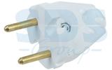 Вилка электрическая Rexant 11-8501 Вилка универсальная без з/к 6А