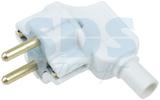 Вилка электрическая Rexant 11-8502 Вилка Евро угловая с з/к 16А