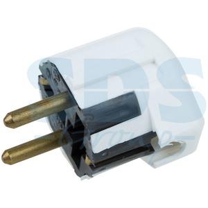 Вилка электрическая Rexant 11-8503 Вилка Евро угловая с з/к 16А