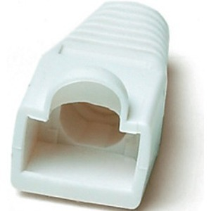Аксессуар для разъема Hyperline BOOT-WH-10 (10 шт)