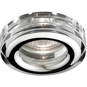 Светильник точечный ЭРА WR3 CH/SL Светильник влагозащищенный