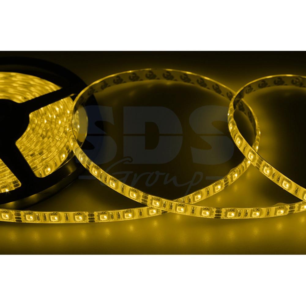 LED лента силикон Lamper 141-492 10 мм, IP65, SMD 5050, 60 LED/m, 12 V, цвет свечения желтый (5 метров)