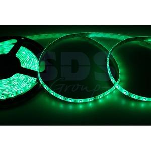 Светодиодная лента Lamper 141-354 8 мм, IP65, SMD 2835, 60 LED/m, 12 V, цвет свечения зеленый (5 метров)