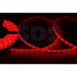 Светодиодная лента Lamper 141-351 8 мм, IP65, SMD 2835, 60 LED/m, 12 V, цвет свечения красный (5 метров)