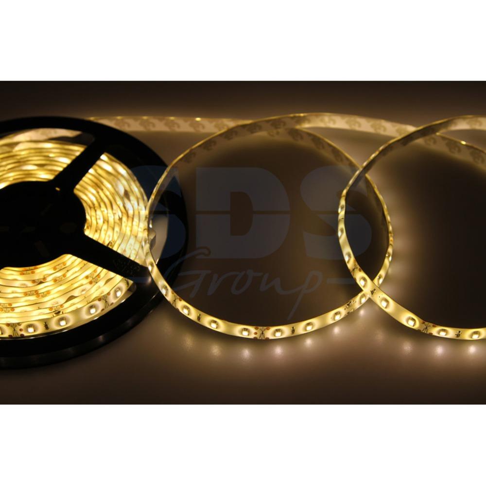 Светодиодная лента Lamper 141-356 8 мм, IP65, SMD 2835, 60 LED/m, 12 V, цвет свечения теплый белый (5 метров)