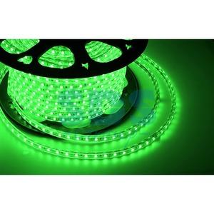Светодиодная лента Neon-Night 142-604 LED лента 220 В, 10х7 мм, IP67, SMD 2835, 60 LED/m, цвет свечения зеленый (100 метров)