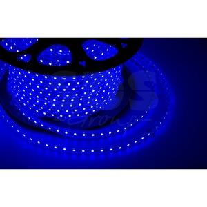 Светодиодная лента Neon-Night 142-603 LED лента 220 В, 10х7 мм, IP67, SMD 2835, 60 LED/m, цвет свечения синий (100 метров)