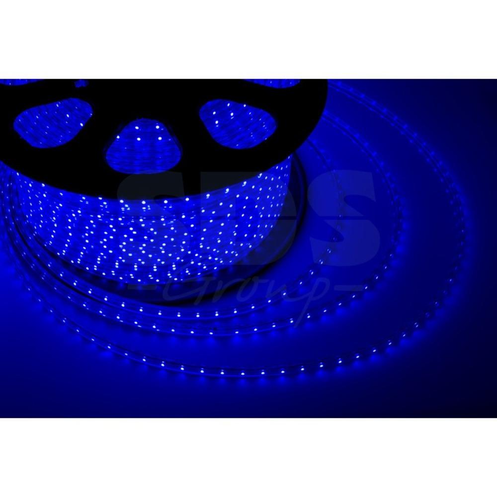 Светодиодная лента Neon-Night 142-103 LED лента 220 В, 13х8 мм, IP67, SMD 5050, 60 LED/m, цвет свечения синий (100 метров)