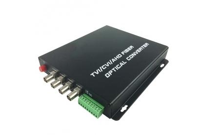 Передача по оптоволокну AHD,CVI,TVI SF&T SF40S2T/HD