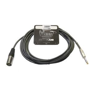 Кабель аудио 1xJack - 1xXLR Invotone ACM1003S/BK 3.0m