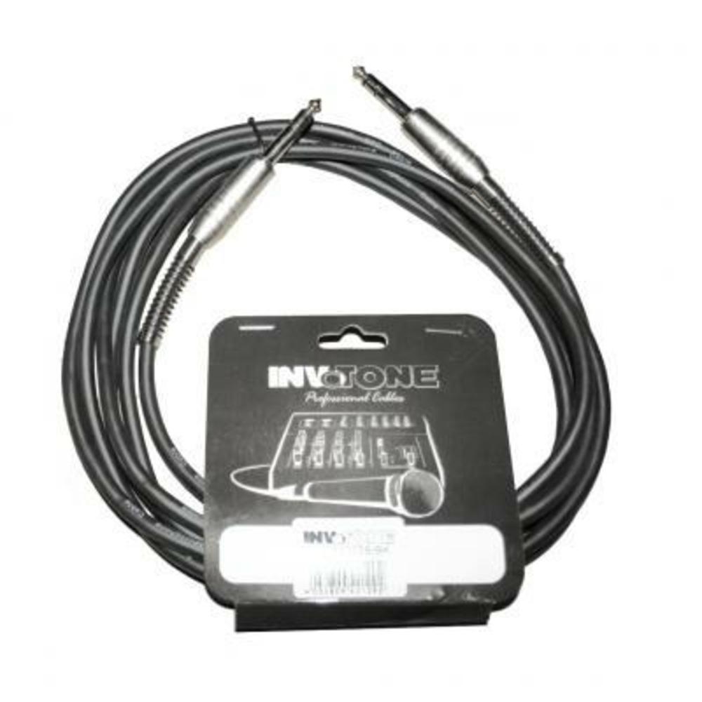 Кабель аудио 1xJack - 1xJack Invotone ACM1203S BK 3.0m