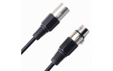 Кабель аудио 1xXLR - 1xXLR Rich Pro RP100BLK 6.0m