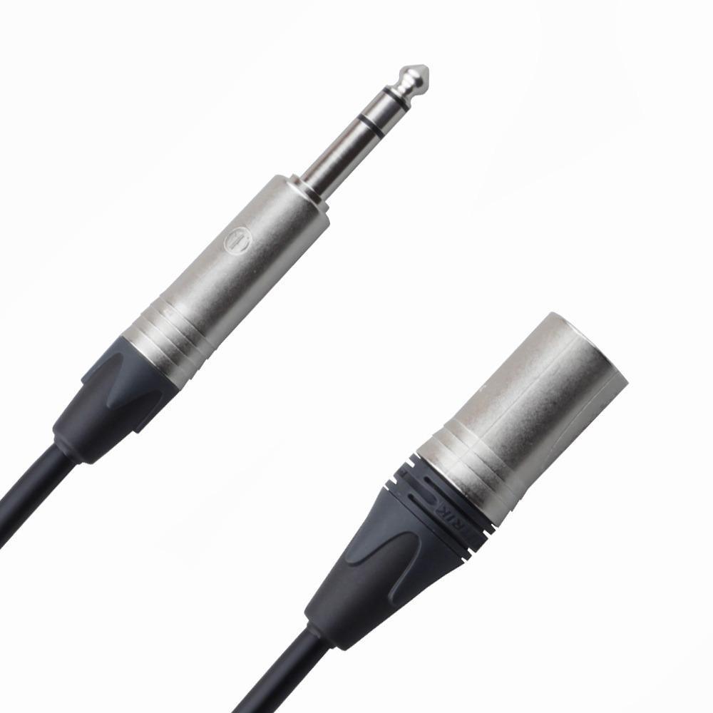 Кабель аудио 1xJack - 1xXLR Rich Pro RP250BLK 45.0m