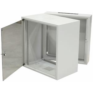 Настенный рэковый шкаф 19 дюймов ZPAS WZ-3505-01-M1-011