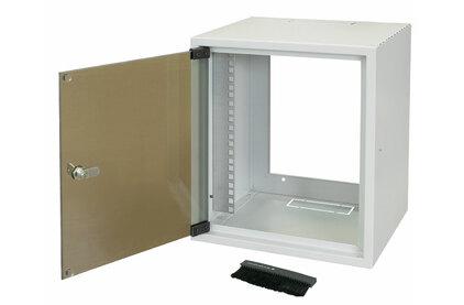 Настенный рэковый шкаф 19 дюймов ZPAS WZ-3661-01-02-011