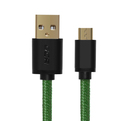 Кабель USB 2.0 Тип A - B micro Greenconnect GCR-UA11MCB6-BB2S-G 0.3m