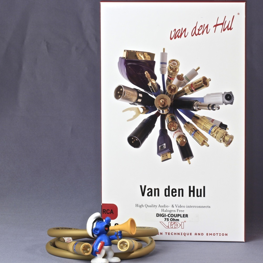 Кабель коаксиальный RCA - RCA Van Den Hul The Digi-Coupler 75 Ohm 0.8m