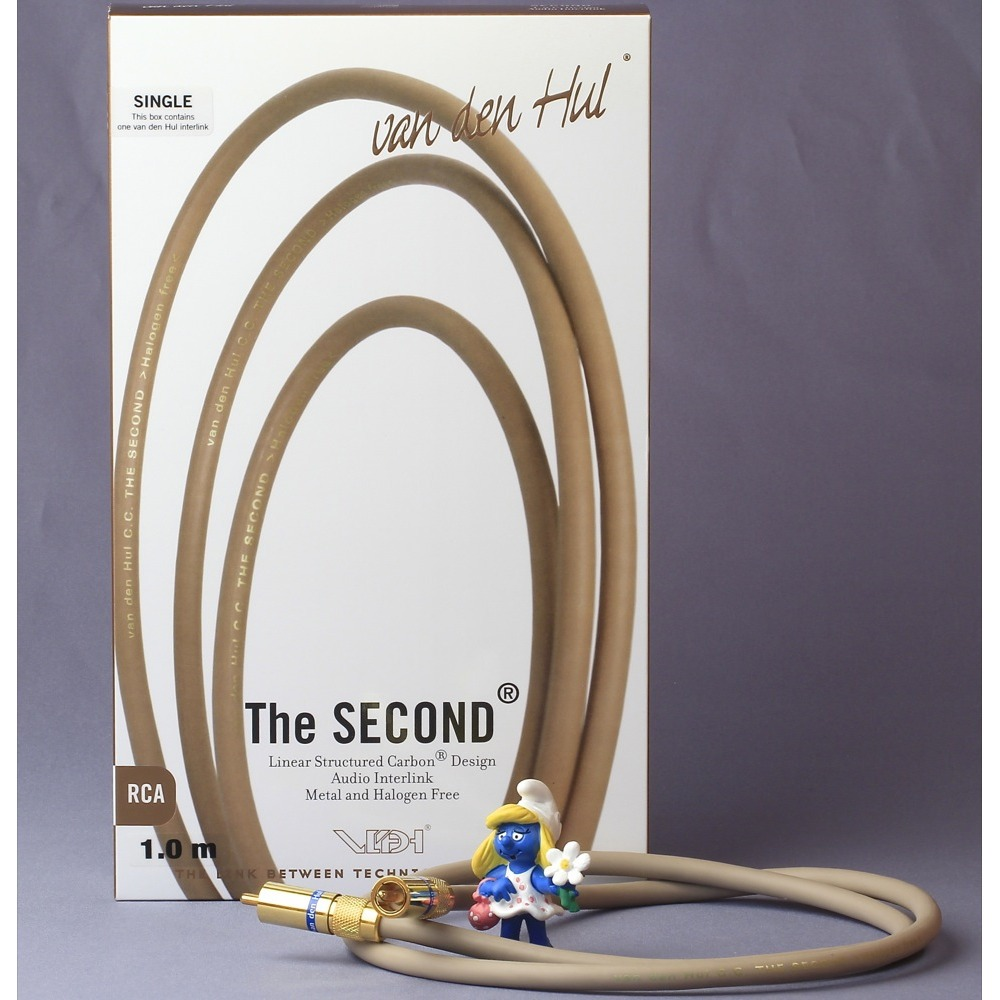Кабель коаксиальный RCA - RCA Van Den Hul The Second (Single) 0.8m