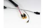 Кабель Phono DIN - 2xRCA Purist Audio Design Genesis Phono Luminist Revision Din-RCA (Straight) 1.2m
