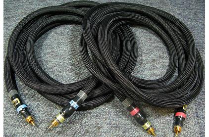 Кабель аудио 2xRCA - 2xRCA Audio Replas REF-SI7000SZ RCA 1.0m
