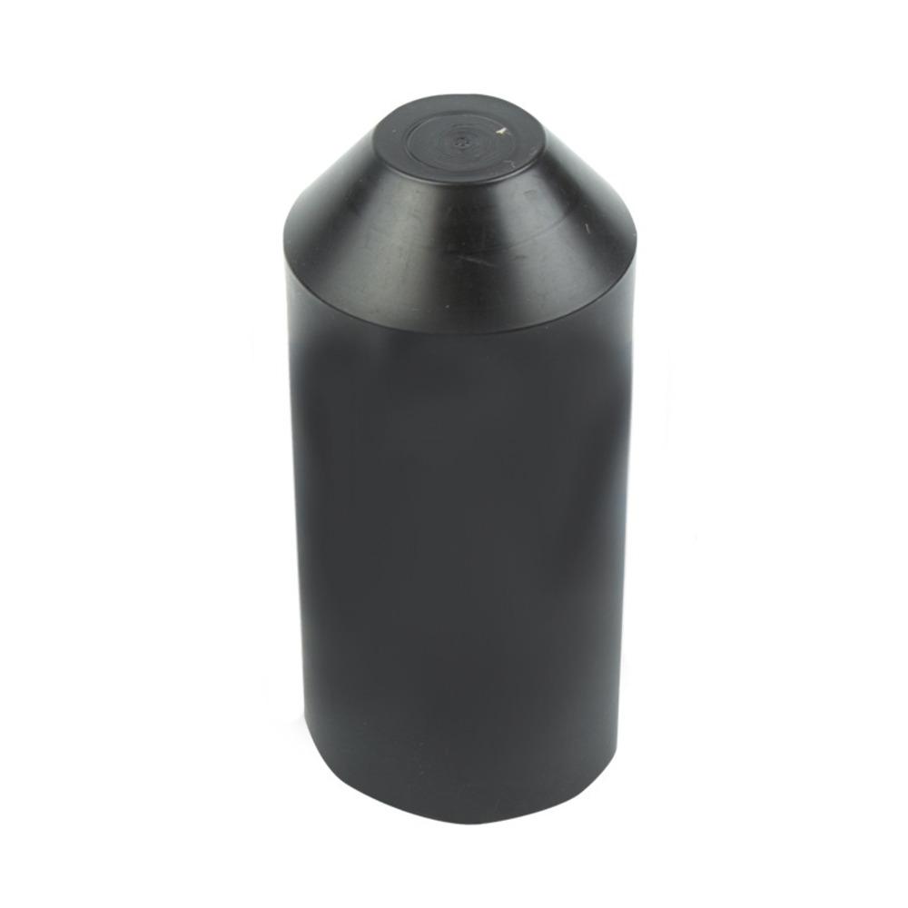 Термоусаживаемый колпак Rexant 48-1120 120.0/57.0мм черный (1 штука)