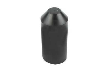 Термоусаживаемый колпак Rexant 48-1074 74.0/31.0мм черный (1 штука)