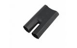 Термоусаживаемая перчатка Rexant 48-2038 на 2 жилы 38.0/16.0мм черная (1 штука)