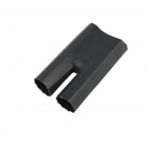 Термоусаживаемая перчатка Rexant 48-2060 на 2 жилы 60.0/25.0мм черная (1 штука)