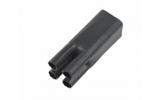 Термоусаживаемая перчатка Rexant 48-4090 на 4 жилы 90.0/45.0мм черная (1 штука)