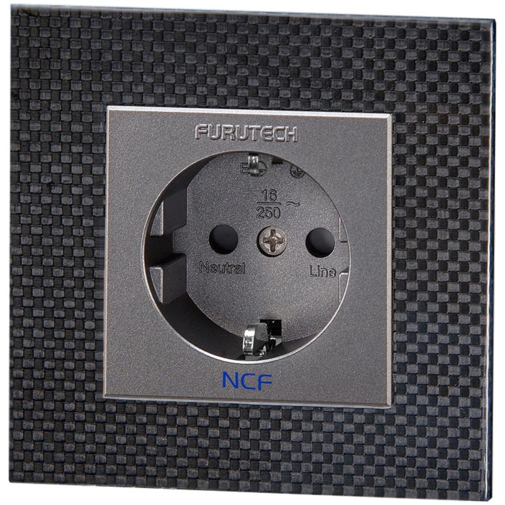 Розетка силовая 2К+З Furutech FT-SWS NCF(R) Carbon