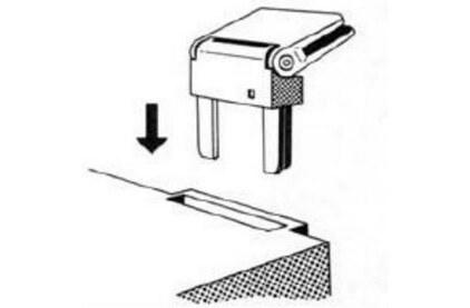 Пылезащитная крышка Dual Hinges for Dust Cover CS415, 420, 435, 440, 455, 460 (E00798)