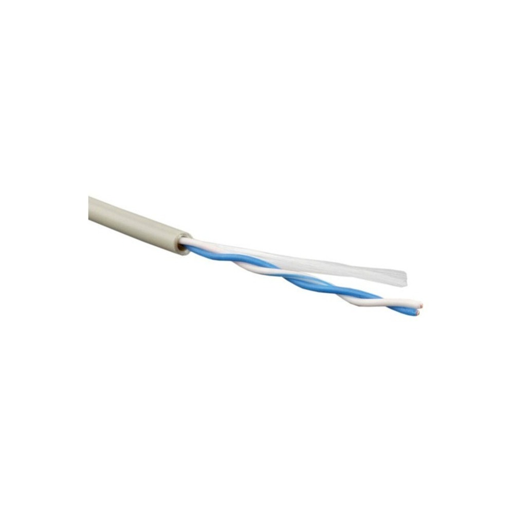 Кабель витая пара Cat.5e 1-2 пары без экрана Hyperline UUTP1-C5-S24-IN-PVC-GY (1м)
