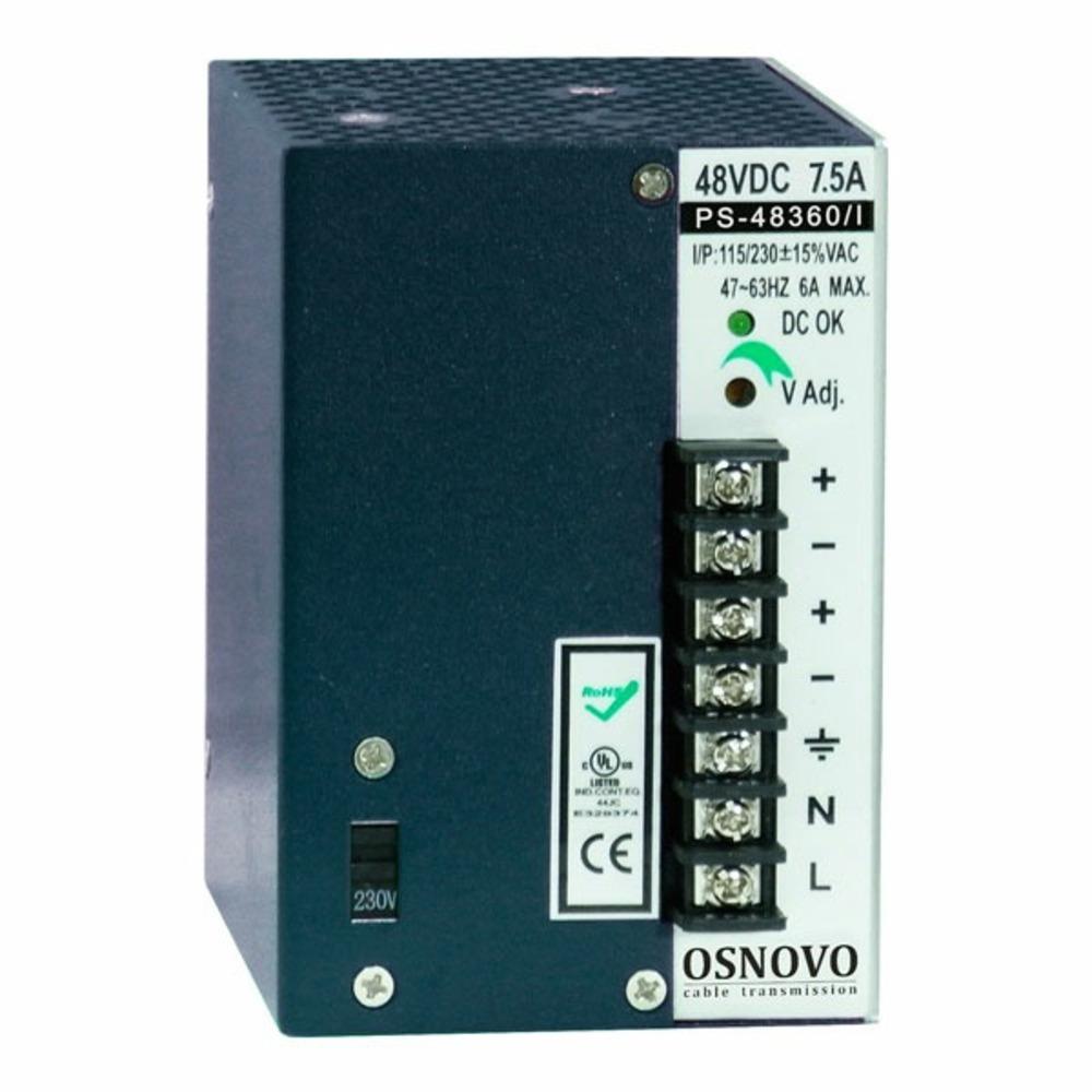 Электропитание приборов Osnovo PS-48360/I