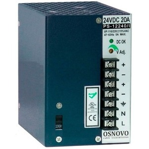 Электропитание приборов Osnovo PS-12240/I