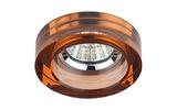 Светильник точечный ЭРА DK38 CH/BR