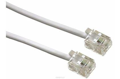 Кабель телефонный патч-корд Greenconnect GCR-TP6P4C 0.5m