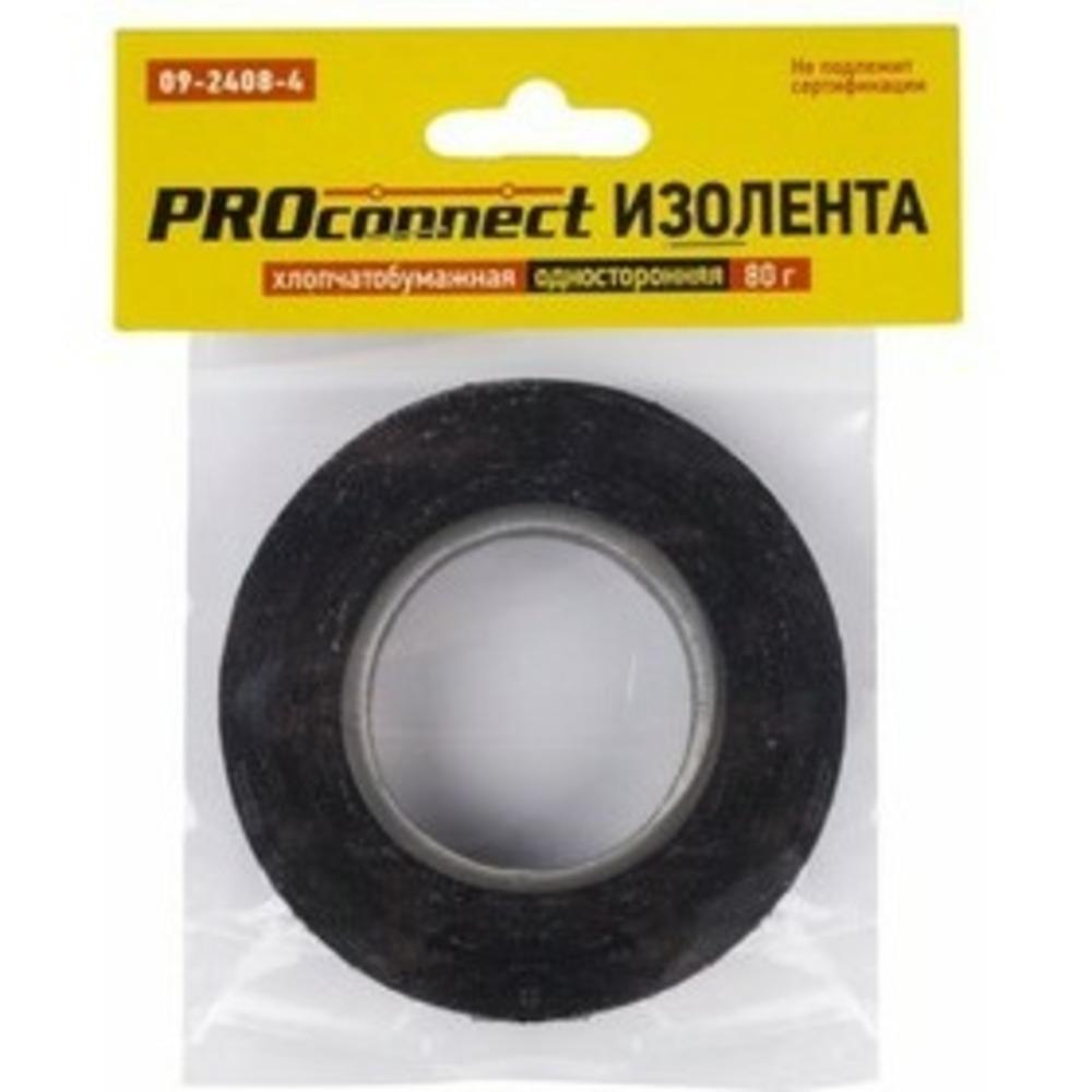 Изолента PROconnect 09-2409-4 Изолента х/б двусторонняя 80 гр. (1 штука)