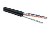 Витая пара в катушке не экранированная Hyperline UUTP2-C5-S24-SW-OUT-PE-BK-88 (88м)
