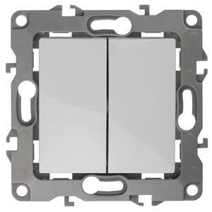 Переключатель промежуточный ЭРА 12-1106-01 10АХ-250В, Эра12, белый