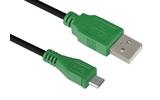 Кабель USB 2.0 Тип A - B micro Greenconnect GCR-UA1MCB1-BB2S 1.5m