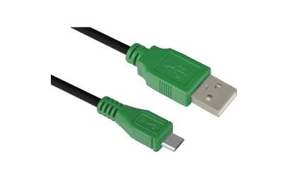 Кабель USB 2.0 Тип A - B micro Greenconnect GCR-UA1MCB1-BB2S 3.0m
