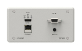 Установочная панель с разъемами Ethernet Kramer WP-20/EU(B)-86