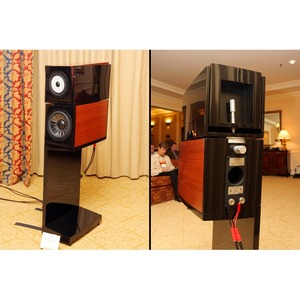 Колонка полочная Vienna Acoustics The Kiss Sapele