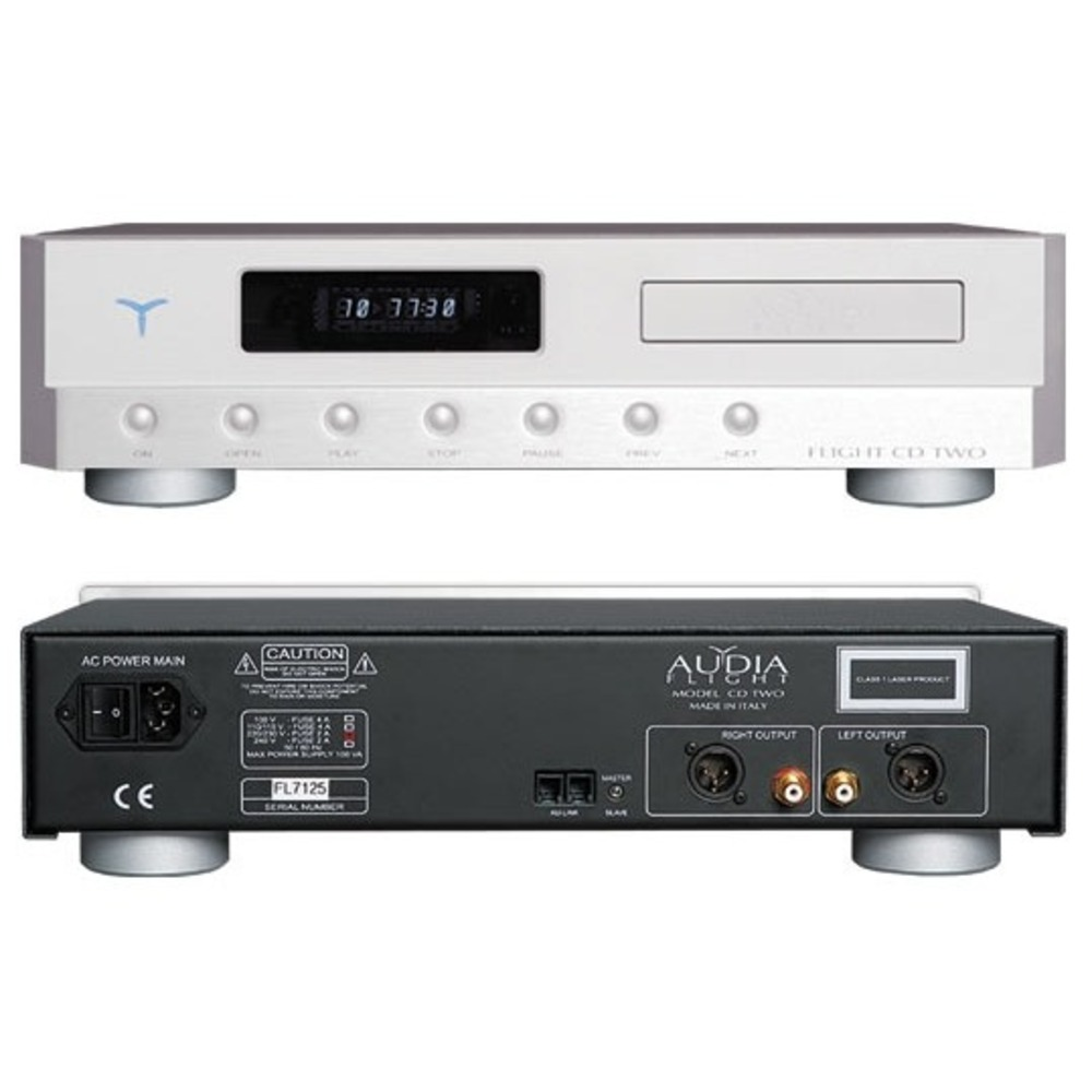 CD-проигрыватель Audia Flight CD TWO Silver