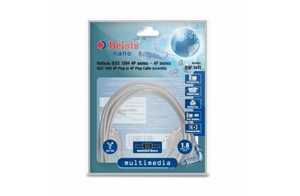 Кабель IEEE 1394 4pin - 4pin Belsis BW1441 1.8m