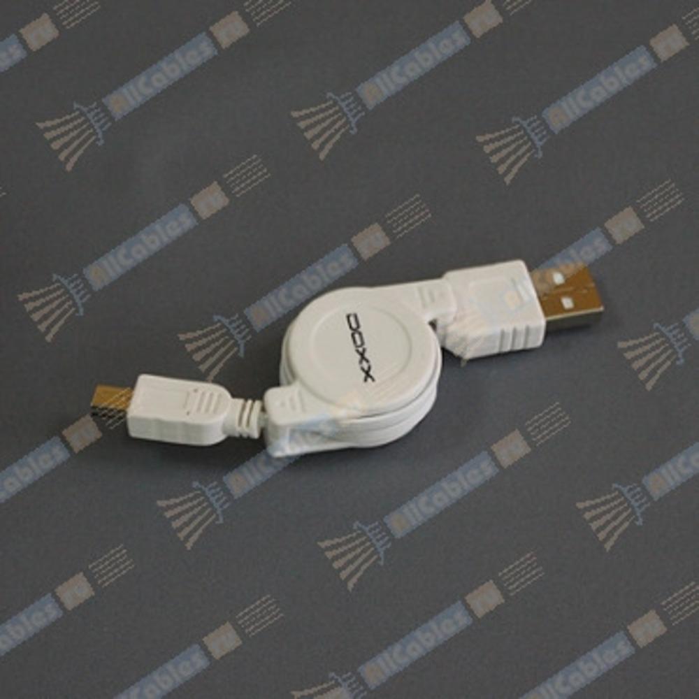 Кабель USB 2.0 Тип A - B 5pin mini DAXX M80-08 0.8m