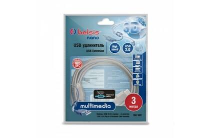 Удлинитель USB 2.0 Тип A - A Belsis BW1402 3.0m